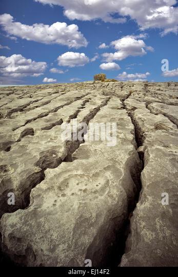 Karst landscape. The Burren, County Clare. Ireland - Stock-Bilder