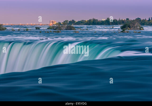 Horseshoe Falls, part of the Niagara Falls, Ontario, Canada. - Stock Image