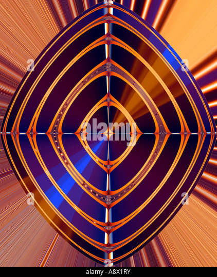 Abstract Digital Art - Stock Image