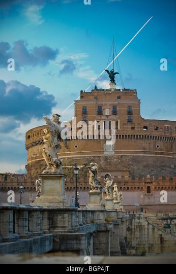Castel Sant'Angelo, Rome, Italy - Stock Image