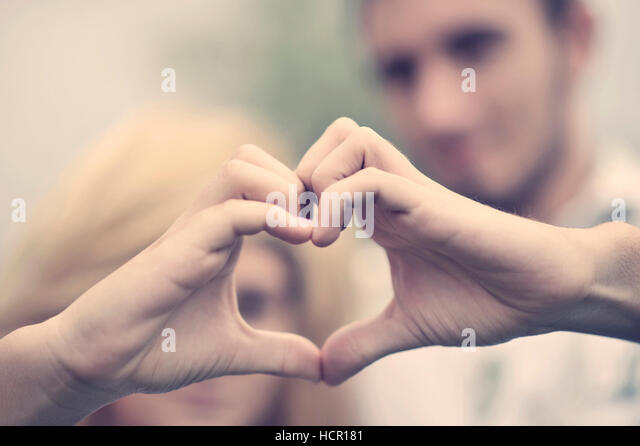 Boy and girl. Love concept - Stock Image
