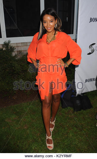 Angela Simmons. 12th Annual Art For Life Benefit at a Private Residence in East Hampton, NY. - Stock Image