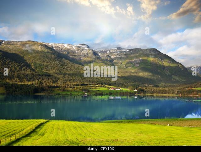 Norway landscapes - Stock-Bilder