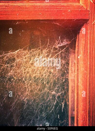 Close up of a window - Stock Image