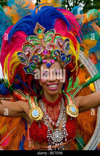 Sonia de Oliveira, Amasonia group, Carnival of Cultures 2009, Berlin, Germany, Europe - Stock-Bilder