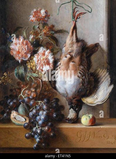 Georgius van Os  Still-Life - Stock Image