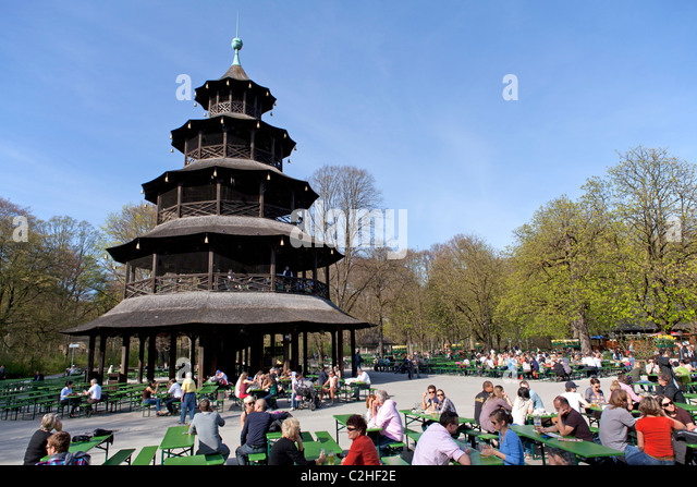 chinesischer turm chinese tower stock photos chinesischer turm chinese tower stock images alamy. Black Bedroom Furniture Sets. Home Design Ideas