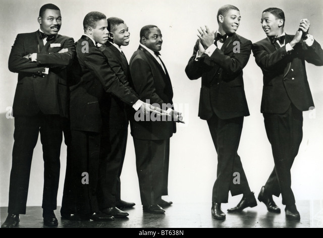 HINES HINES AND BROWN  US vocal group about 1963 - Stock Image