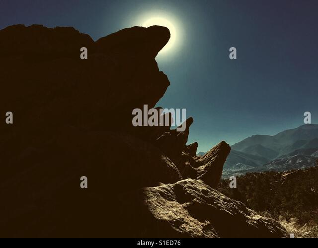 Garden of the Gods - Stock Image