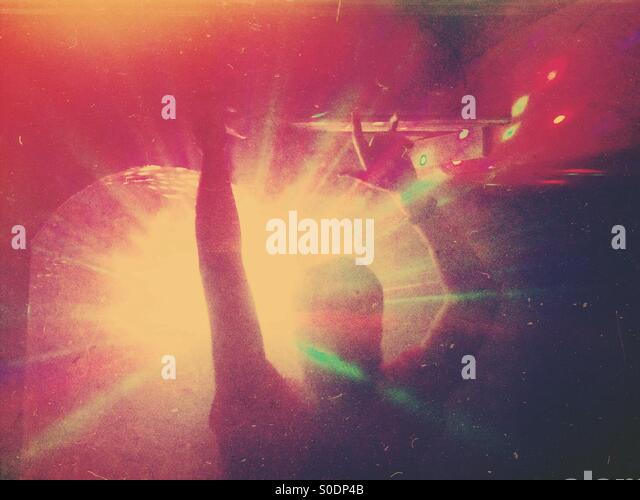 In the Club - Stock Image