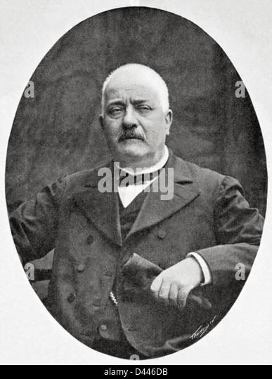 Ramon Batlle Ribas (1837-1906). Spanish technical and textile teacher. - Stock Image