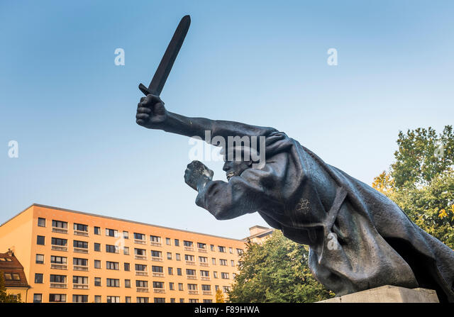 Monument to the Spanish Civil War, Berlin, Germany - Stock Image