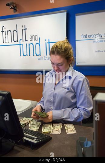 bank teller stock photos  u0026 bank teller stock images