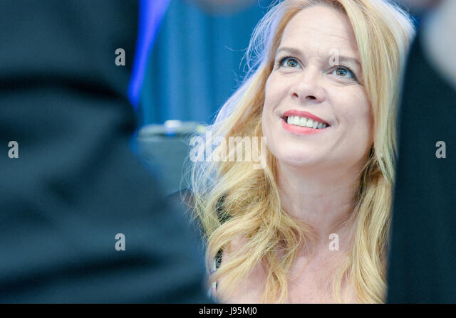 Bonn, Germany. 4th June, 2017. Chase Masterson (Leeta on Star Trek: Deep Space Nine) was the presenter at FedCon - Stock Image