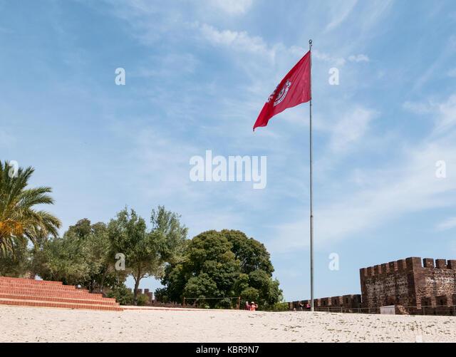 Silves Town i Algarve, Portugal - Stock Image