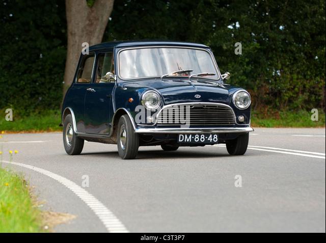 Mini Innocenti Italian Mini small car - Stock Image