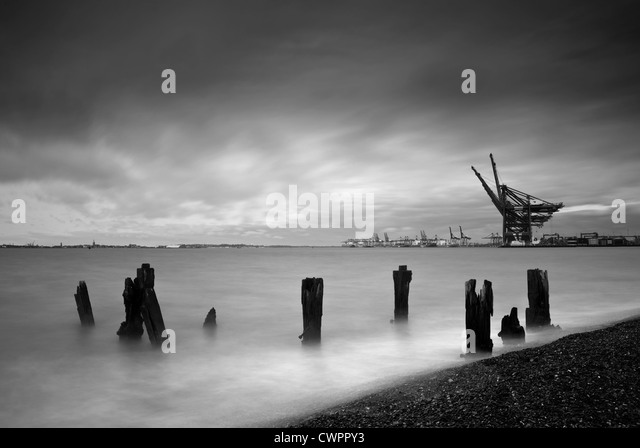 Felixstowe, Suffolk - Stock-Bilder