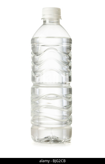 bottled water - Stock Image