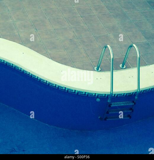 The summer pool - Stock-Bilder