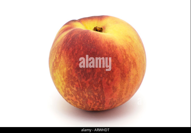 A Whole Peach - Stock Image