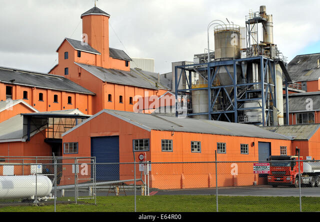 buildings silos and other plants of chelsea sugar refinery auckland