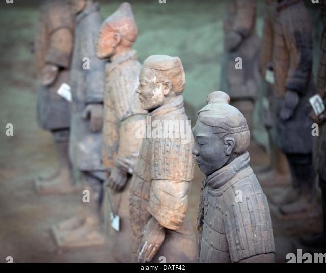 Xi'an terracotta warriors 2 - Stock Image