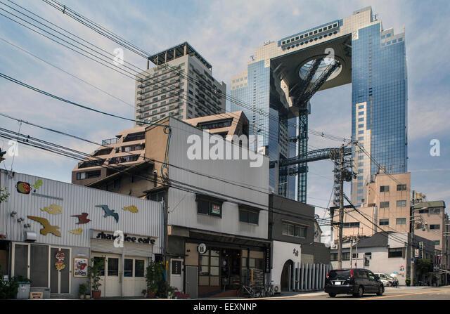 Umeda Sky Building, Osaka, Japan. - Stock Image