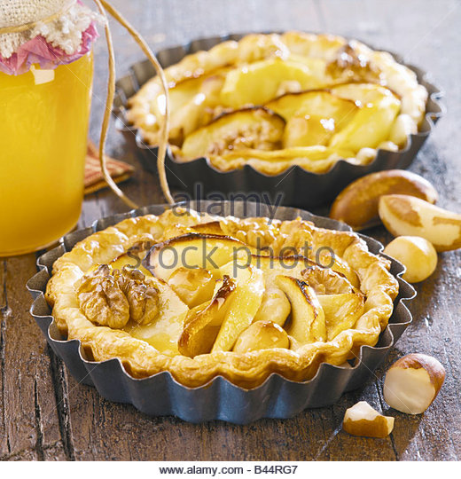 Cake with dried fruits - Stock Image