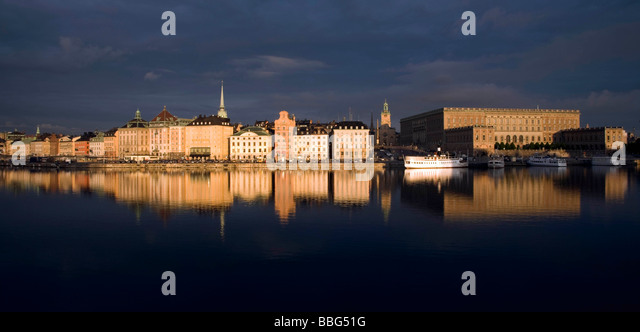 Gamla Stan, Stockholm, Sweden - Stock Image