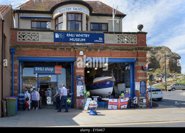 RNLI Whitby Museum - Stock Image