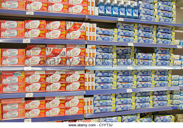 Cancun Mexico Yucatán Peninsula Quintana Roo Avenida Tulum Chedraui grocery store supermarket shopping shelf - Stock Image