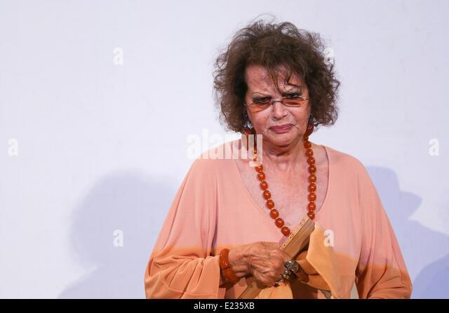 Italian actress claudia cardinale in stock photos - Diva futura valeria visconti ...
