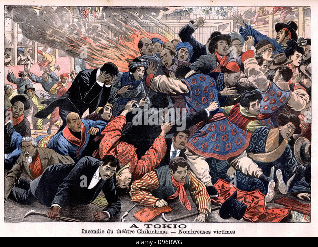 Flame theatre stock photos flame theatre stock images alamy - Le petit journal tokyo ...