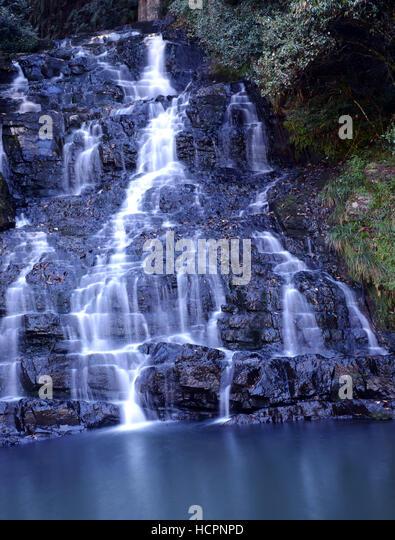 Elephant falls near Shillong, Meghalaya. - Stock Image