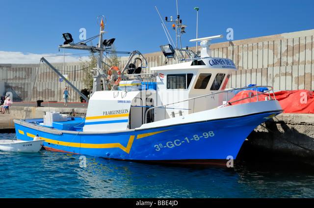 Arguineguin stock photos arguineguin stock images alamy for Ocean isles fishing village