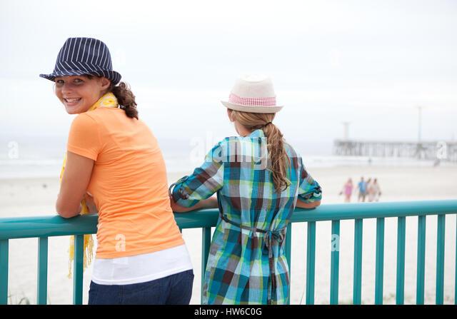 The Boardwalk in Daytona Beach - Stock Image