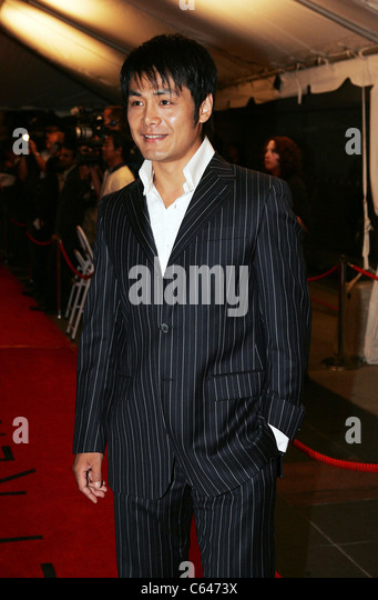 Bing Shao at arrivals for THE MYTH Premiere at Toronto Film Festival, Roy Thompson Hall, Toronto, ON, September - Stock Image