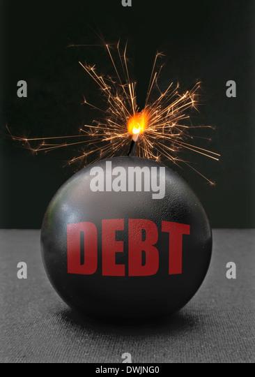 Debt concept - Stock Image