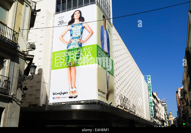 Ingles stock photos ingles stock images alamy for El corte ingles madrid sol