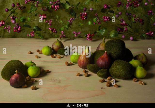 Fig still life - Stock Image