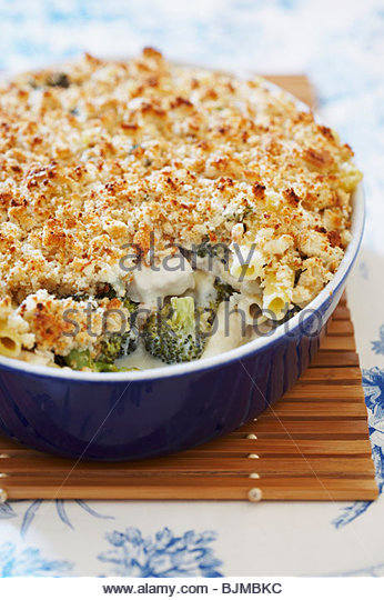 Chicken, Broccoli and Ziti Casserole - Stock Image