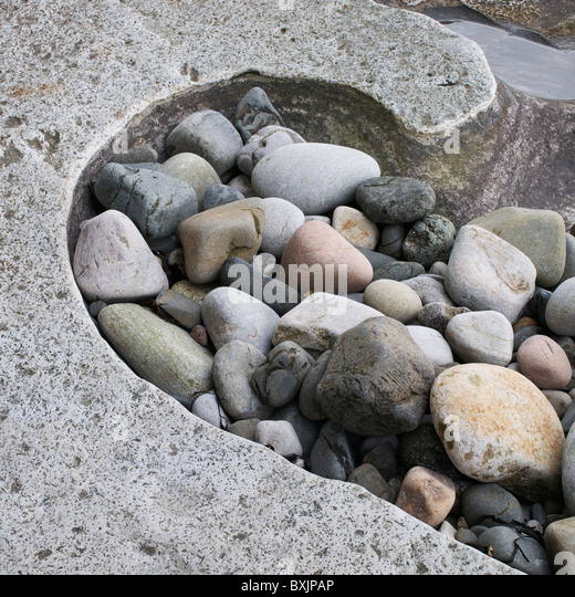 Scottish coastal erosion stock photos