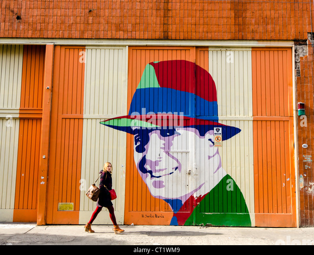 Carlos Gardel neighborhood Buenos Aires Argentina South America - Stock Image