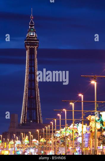 Ceiling Lights Blackpool : Illumination stock photos images alamy