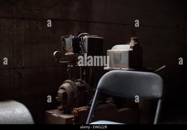 Vintage Rusted Machines - Stock Image