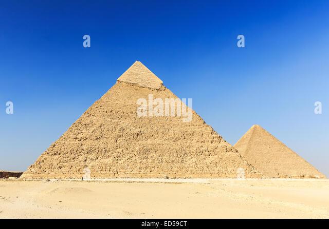 Giza Plateau. Cairo, Egypt - Stock Image