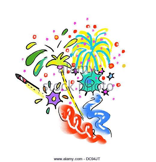 Fireworks - Stock-Bilder
