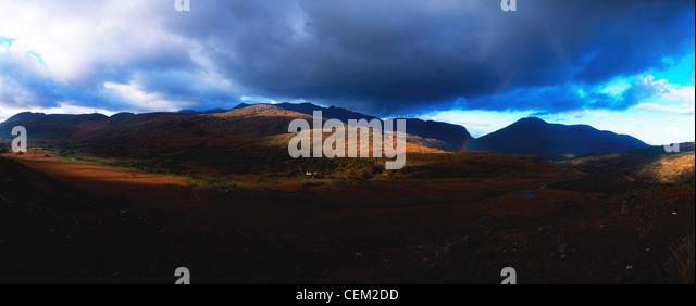 Molls Gap, Macgillycuddy's Reeks, Co Kerry, Ireland - Stock Image