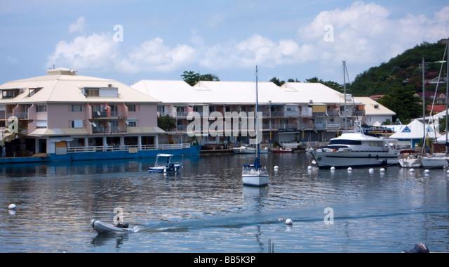 Simpson bay lagoon stock photos simpson bay lagoon stock - Marina port la royale marigot st martin ...