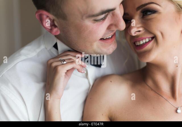 beautiful couple posing - Stock-Bilder